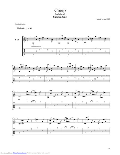 Amazing Creep Stone Temple Pilots Chords Images - Beginner Guitar ...