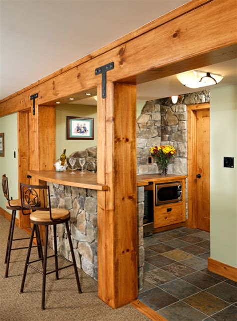 rustic basement ideas rustic basement eclectic basement dc metro by