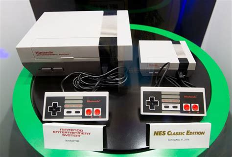 Nintendo Classic Mini Nintendo Entertainment System Toys R Nes Classic Release Date Price Specs Trailer And List Daily
