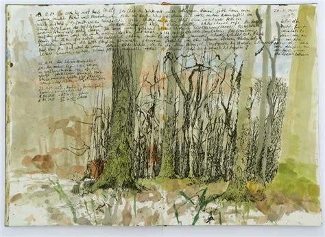 sketchbook nature martin stankewitz field sketchbook with notes december