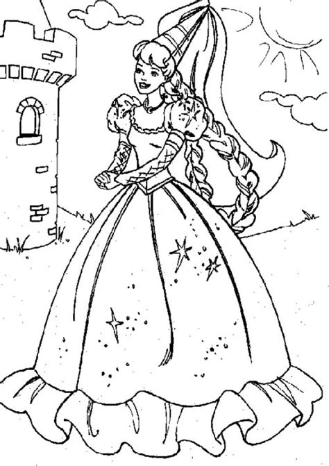 8 Printable Barbie Princess Coloring Pages Gt Gt Disney Princess Coloring Page Printable