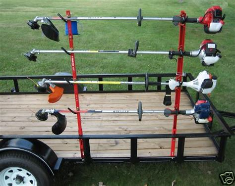 Weedeater Racks For Trailer by Jungle Jim S 4tr String Trimmer Rack Holds 4 For Utility