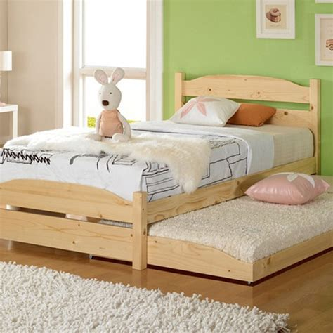 twin boy bed good quality solid wood bed children girl cute little boy