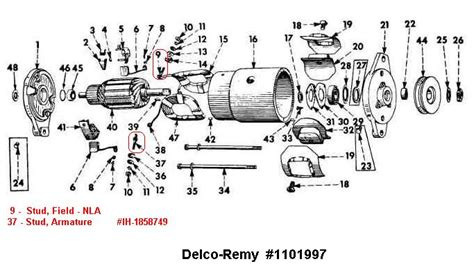 delco starter solenoid wiring diagram get free image