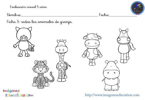 imagenes educativas para preescolar evaluacion inicial educacion infantil 5 anos 6 imagenes