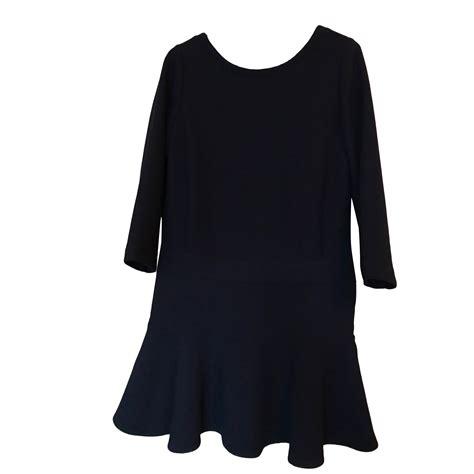 Comptoir Des Cotonniers Robes by Robe Courte Comptoir Des Cotonniers 40 L T3 Bleu 7356888