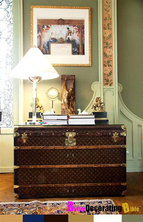 vintage luggage home decor design bookmark 14035 decorating with louis vuitton trunks