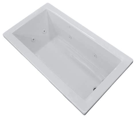 54 x 36 bathtub venzi villa 36 x 72 rectangular whirlpool jetted bathtub