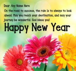 make new year wish cards with messages photos free