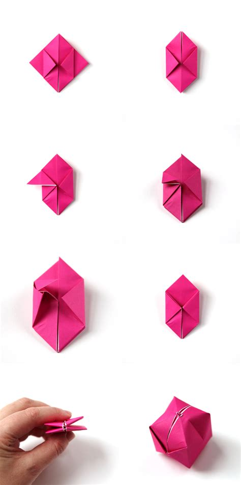 Up Origami Box - diy origami box lights gathering