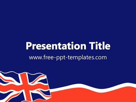 Union Jack Ppt Template Microsoft Powerpoint Templates Uk