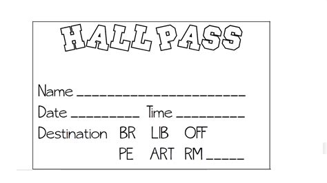bathroom pass template 28 images printables pass