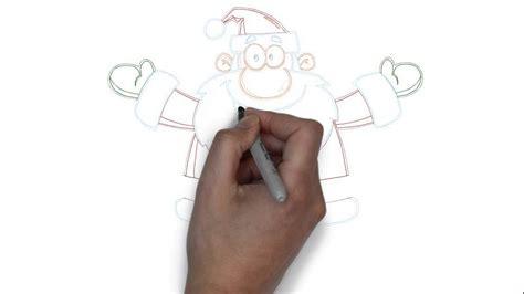 wie zeichnet eine wie zeichnet einen weihnachtsmann