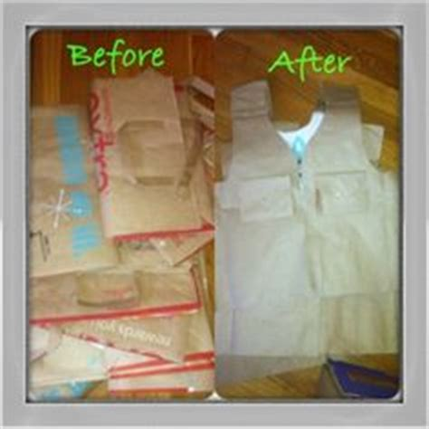 How To Make A Paper Bag Vest - jungle safari on safari birthday