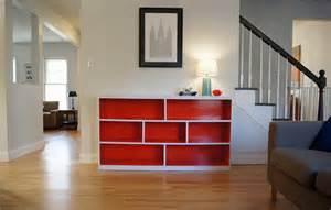 orange bookcase sutton grace before and after orange bookcase