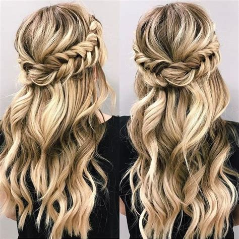 5 Braid Hair Styles You Can Rock by 25 Best Ideas About Half Up Half On Prom
