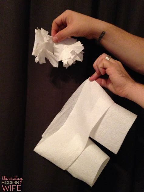 The Best Bridal Shower Game Ever: Toilet Paper Lingerie