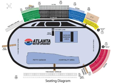 how many seats at motor speedway atlanta motor speedway nascar track odds bet atlanta