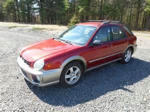 2002 Subaru Impreza Outback Purchase Used 2002 Subaru Impreza Outback Wagon 4 Door 2