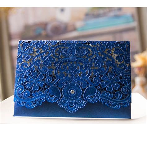 Cheap Wedding Invitations Blue by Get Cheap Royal Blue Wedding Invitations