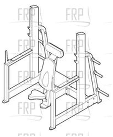 epic bench press epic military press bench gzfw21640 fitness and exercise equipment repair parts