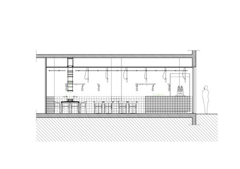 Section 4 1 A by Gallery Of Cafe Coutume Aoyama Cut Architectures 31