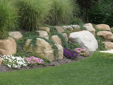 the 25 best ideas about boulder retaining wall on