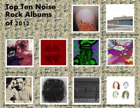 noise rock procurement records pseudo label and review top 10 2012