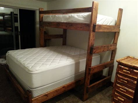 twin over double bunk bed custom bunk beds wasatch bunk bed twin over twin twin