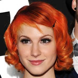 reddish orange hair color orange hair color