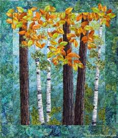 Landscape Quilt Patterns 70 Best Images About My Landscape Quilts On