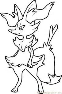 braixen pokemon coloring page free pok 233 mon coloring