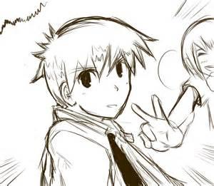 anime quick sketch practice by penciltips on deviantart