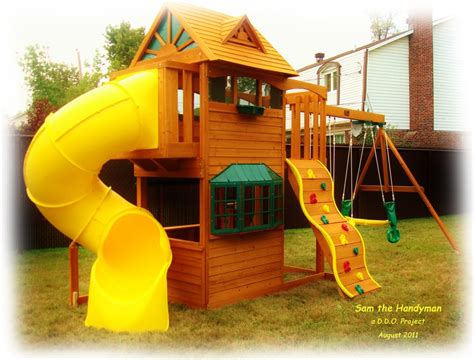 triyae backyard playground various design