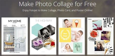 photo collage greeting card template fotojet create professional collages cards for