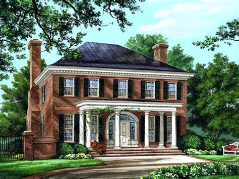 colonial style home plans house plan 86225 at familyhomeplans com