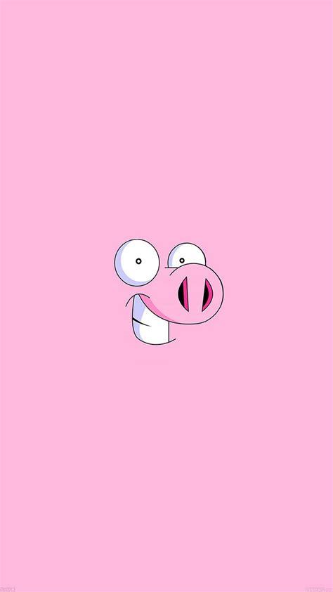 wallpaper cartoon tumblr af36 pig cartoon minimal illust