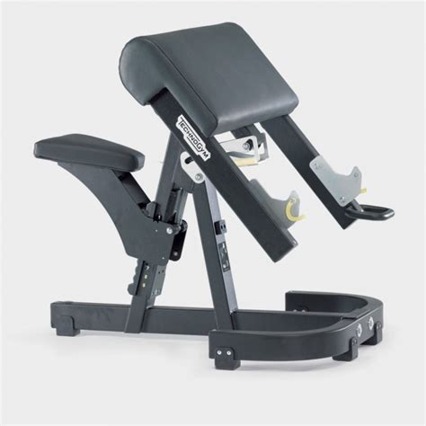 scott curl bench pure strength scott bicep barbell curl bench technogym