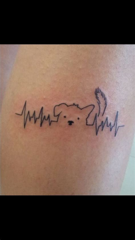 tatoo poignet heartbeat battement de coeur tatouages de chiens battement de coeur and chiens on