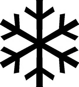 Easy Snowflake Outline by Snowflake Outline Clipart Best