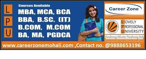 Lovely Professional Mba Distance by Mohali Business Directory Pages Bizilocator