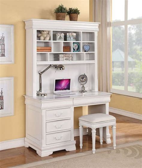 legacy summer cottage white desk hutch l shaped