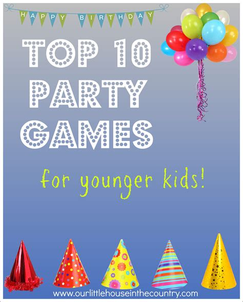 Autumn Home Decor by Top 10 Party Games For Younger Kids Our Little House