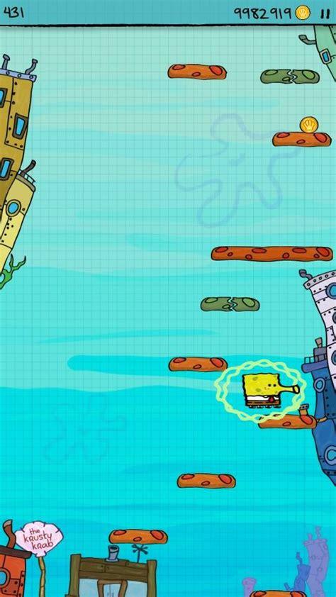 doodle jump bob esponja apk doodle jump spongebob скачать на андроид бесплатно игру apk