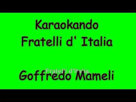 la italia testo fratelli d italia testo buzzpls