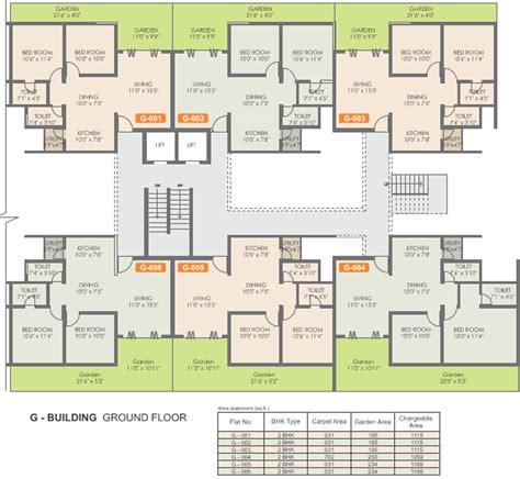 map floor plan rohan mithila in viman nagar pune price location map