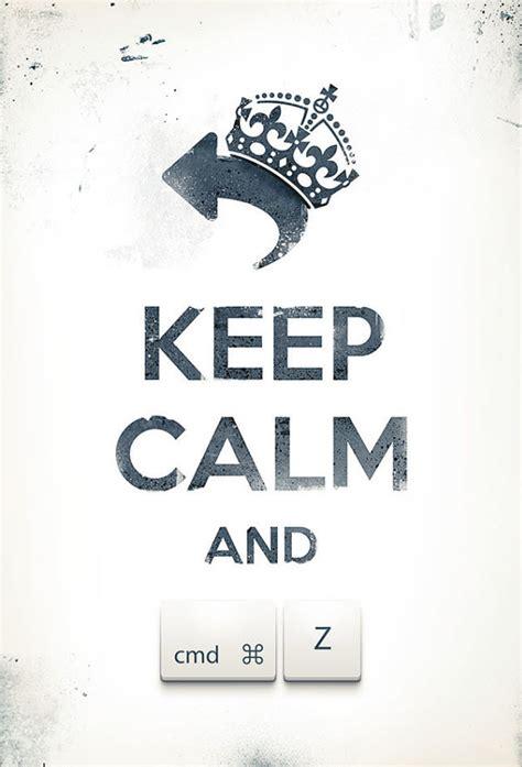 keep kalm calm if you keep calm love your web designers posters hongkiat