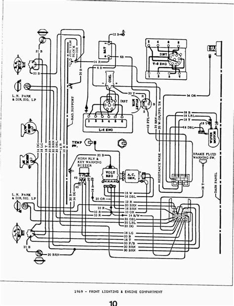 wiring diagram 69 chevelle 1 wire alternator wiring get