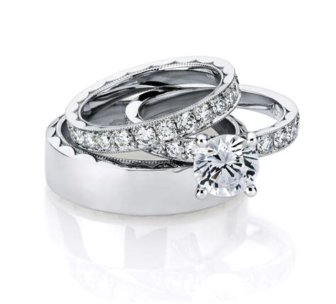 wedding rings sets for him and wedding promise