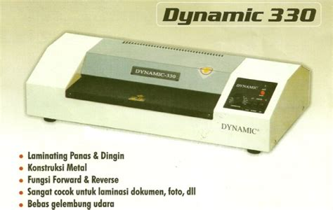Mesin Laminating Dynamic 320 mesin laminating dynamic 330a hacked by r00tkit